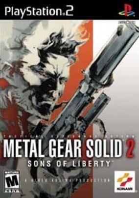 Copertina del gioco Metal Gear Solid 2: Sons Of Liberty per PlayStation 2