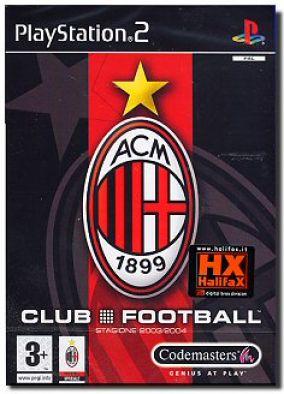 Copertina del gioco Club Football: Milan  per PlayStation 2
