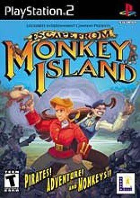 Copertina del gioco Fuga da Monkey Island per PlayStation 2