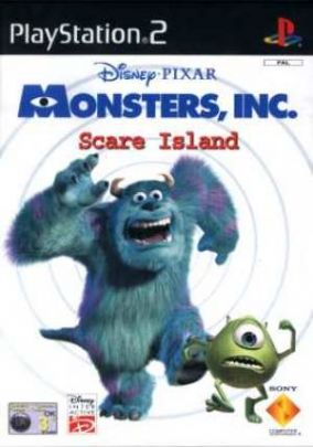 Copertina del gioco Monsters, inc  - L'isola dello Spavento per PlayStation 2