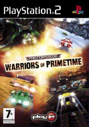 Copertina del gioco Motorsiege Warriors of Primetime per PlayStation 2