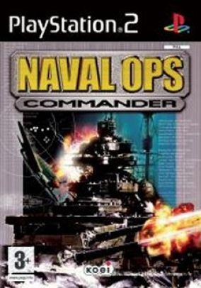 Copertina del gioco Naval Ops: Commander per PlayStation 2
