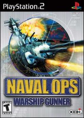 Copertina del gioco Naval Ops:Warship Gunner  per PlayStation 2