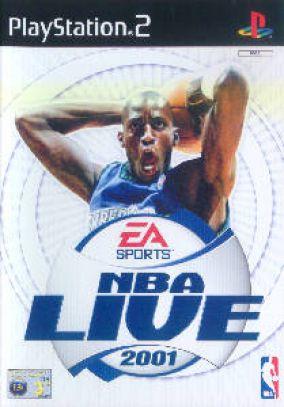 Copertina del gioco NBA Live 2001 per PlayStation 2