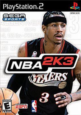 Copertina del gioco NBA 2K3 per PlayStation 2