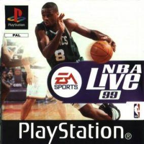 Copertina del gioco NBA live '99 per PlayStation 2