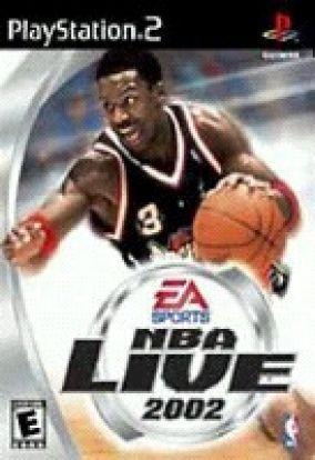 Copertina del gioco NBA Live 2002 per PlayStation 2