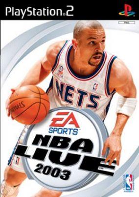 Copertina del gioco NBA Live 2003 per PlayStation 2