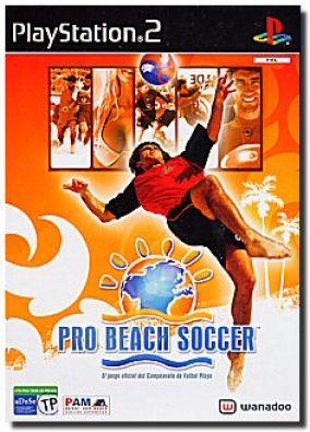 Copertina del gioco Pro Beach Soccer per PlayStation 2