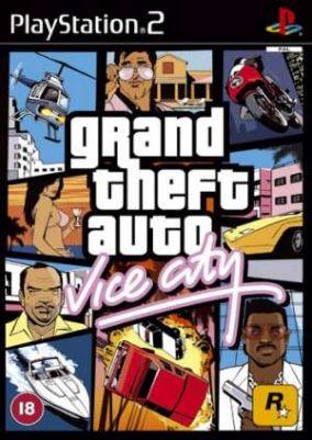 Immagine della copertina del gioco Gta Vice City per PlayStation 2
