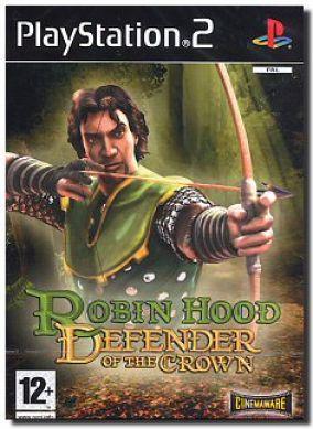Copertina del gioco Robin Hood: Defender of the Crown per PlayStation 2