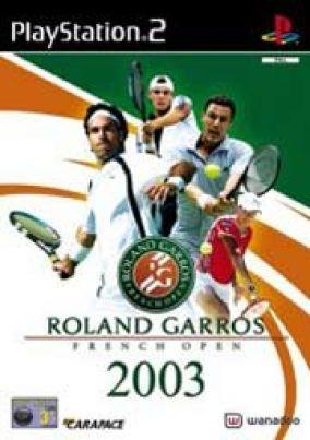 Copertina del gioco Roland Garros 2003 per PlayStation 2