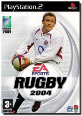 Copertina del gioco Rugby 2004 per PlayStation 2