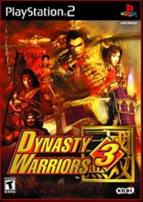 Copertina del gioco Dynasty Warriors 3  per PlayStation 2