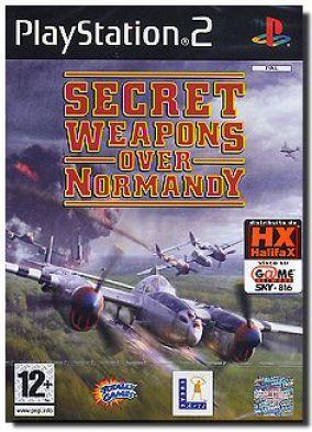 Copertina del gioco Secret Weapons Over Normandy per PlayStation 2