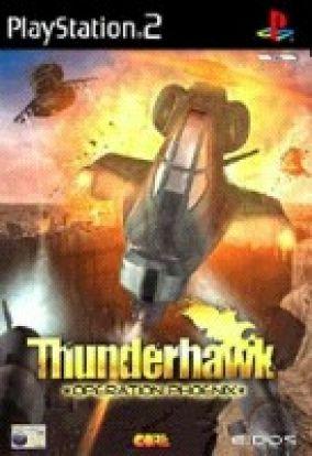 Immagine della copertina del gioco Thunderhawk per PlayStation 2