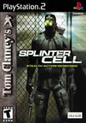 Copertina del gioco Tom Clancy's Splinter Cell per PlayStation 2