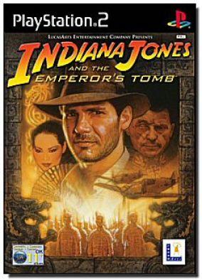 Immagine della copertina del gioco Indiana Jones e la Tomba dell'Imperatore per PlayStation 2