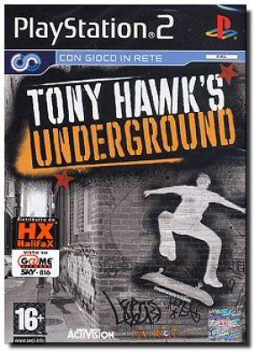 Copertina del gioco Tony Hawk's Underground  per PlayStation 2