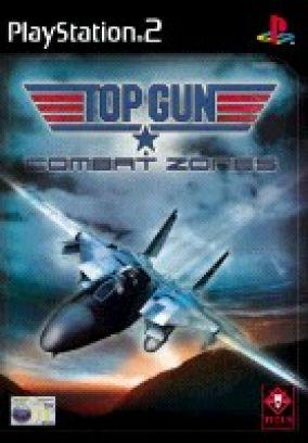 Immagine della copertina del gioco Top Gun: Combat Zones per PlayStation 2