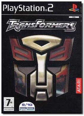 Copertina del gioco Transformers per PlayStation 2