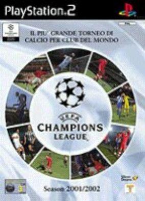 Copertina del gioco UEFA Championships league 2001 - 2002  per PlayStation 2