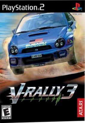 Copertina del gioco V-Rally 3 per PlayStation 2
