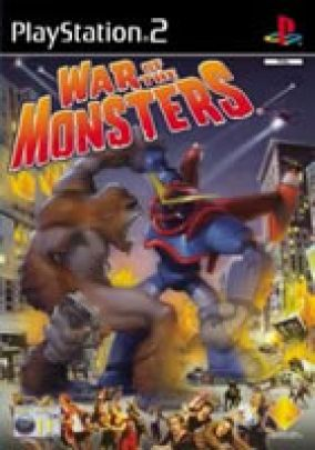 Immagine della copertina del gioco War of the monsters per PlayStation 2