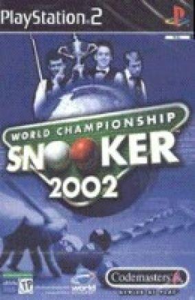 Copertina del gioco World championship snooker 2002 per PlayStation 2