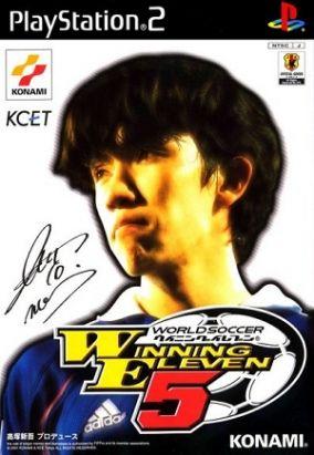 Copertina del gioco Winning Eleven 5 per PlayStation 2