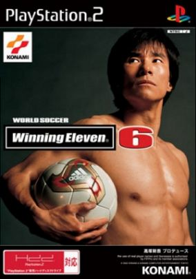 Copertina del gioco Winning Eleven 6 per PlayStation 2