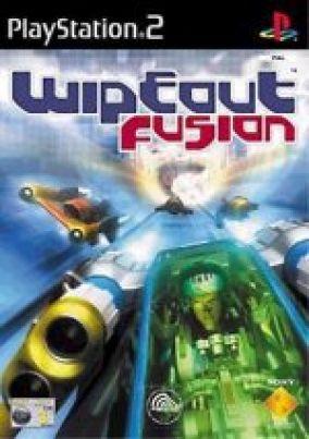 Copertina del gioco Wipeout fusion per PlayStation 2