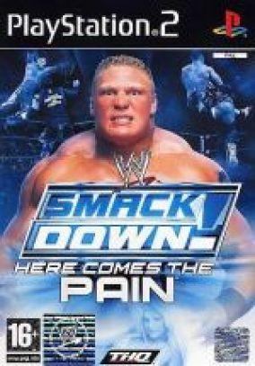 Immagine della copertina del gioco WWE Smackdown! Here comes the pain per PlayStation 2