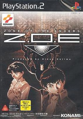 Copertina del gioco Zone of the Enders per PlayStation 2
