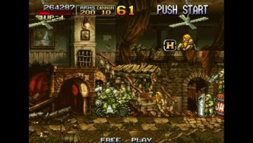 Immagine -17 del gioco Metal Slug Anthology per PlayStation PSP