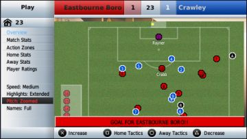 Immagine 0 del gioco Football Manager Handheld 2009 per PlayStation PSP