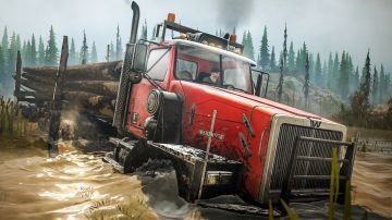 Immagine -2 del gioco Spintires: MudRunner - American Wilds Edition per Nintendo Switch