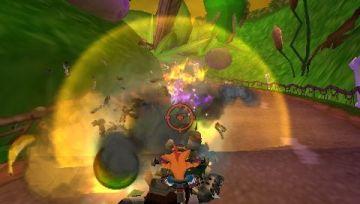 Immagine -1 del gioco Crash Tag Team Racing per PlayStation PSP