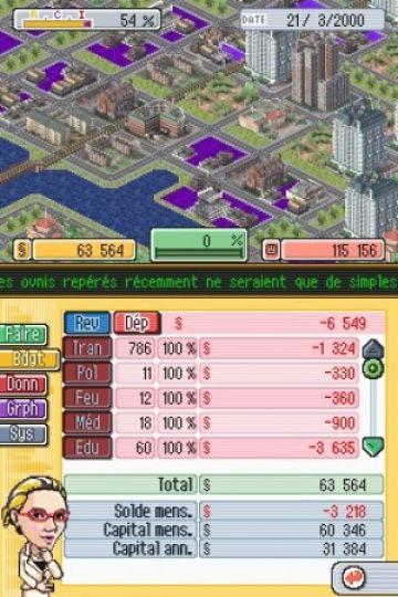 Immagine 0 del gioco SimCity DS per Nintendo DS
