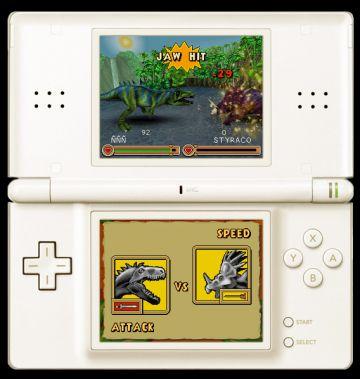 Immagine -3 del gioco Dinosaurs: Combattimenti fra Giganti per Nintendo DS