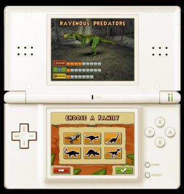 Immagine -12 del gioco Dinosaurs: Combattimenti fra Giganti per Nintendo DS