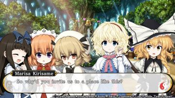 Immagine -3 del gioco Touhou Genso Wanderer Reloaded per PlayStation 4