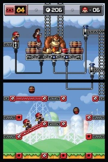 Immagine -4 del gioco Mario vs Donkey Kong: Mini-Land Mayhem! per Nintendo DS