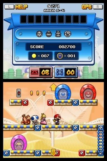 Immagine -3 del gioco Mario vs Donkey Kong: Mini-Land Mayhem! per Nintendo DS