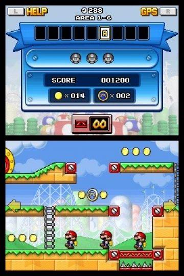 Immagine -2 del gioco Mario vs Donkey Kong: Mini-Land Mayhem! per Nintendo DS