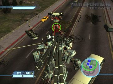Immagine -11 del gioco Transformers: The Game per Nintendo Wii