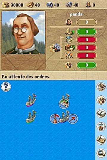 Immagine -1 del gioco Anno 1701 - Agli Albori delle Scoperte per Nintendo DS
