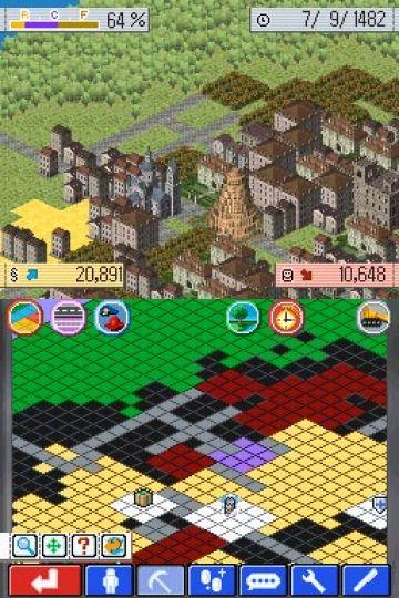 Immagine -5 del gioco Sim City Creator per Nintendo DS