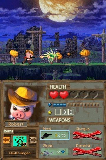 Immagine -16 del gioco Barnyard Blast - il porcello delle tenebre per Nintendo DS