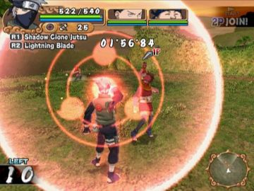 Immagine -2 del gioco Naruto: Uzumaki Chronicles 2 per PlayStation 2